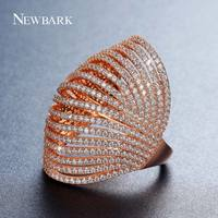 NEWBARK New Latest 3 Colors Rose White Gold Plated Multilayer 16 Layers Rings Tortoise Shell Basket