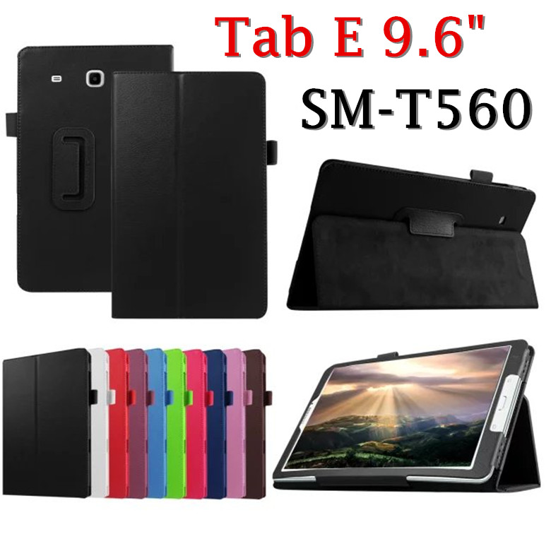 For Samsung Tab E 9.6 T560 T561 SM-T560 SM-T561 Tablet Cover Fashion Business Stand Holder Flip Folio Leather Protective Case bf luxury tablet case for samsung galaxy tab e 9 6 sm t560 sm t561 t560 t561 pu leather flip cute book stand cover protector