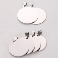 Accept Drop Shipping 100pcs Stainless Steel Charm Jewelry Accessories for Necklace/Bracelet YP6900