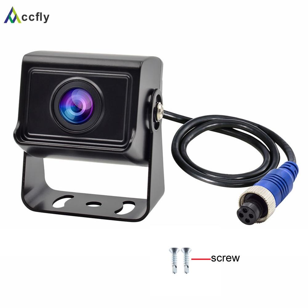 Accfly AHD 1080 P SONY CCD 4 pin автомобиля резервного копирования Обратный заднего вида камера для грузовиков автобус караван Ван Camper прицепы экскавато...