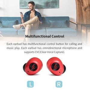 Image 4 - EDIFIER TWS2 słuchawki TWS Bluetooth V5.0 IPX4 do 12 godzin czas odtwarzania wielofunkcyjne sterowanie bezprzewodowe słuchawki