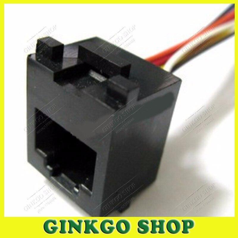 100x 2,8 cable zapatos 90 ° ángulo conector plano Krimp fis resistente al calor 250 ° C GLD