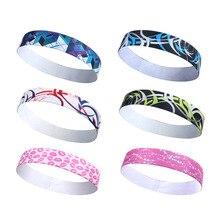 1 pcs Fashion Modern  Elastic Headband  Sweat belt rubber towel elastic sports hair band  Hair accessories