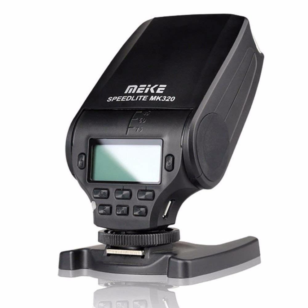 MEKE Meike MK320 TTL флэш адаптері Nikon J1 J2 J3 D7100 - Камера және фотосурет - фото 2