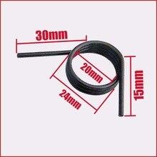 torsion spring 3 coils door lock handle latch repair