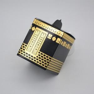 Image 4 - Muslin festivali Kabe tasarım kalıp kesme altın folyo hajj kutusu