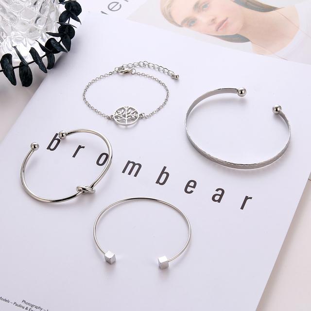 4Pcs/Set Trendy Bracelets