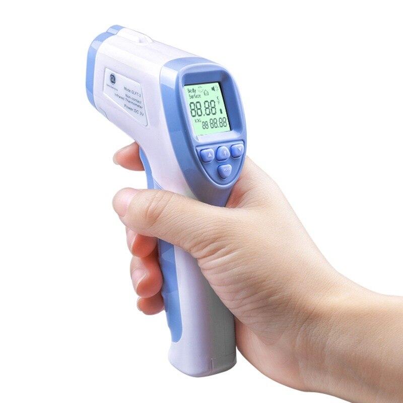 GL Bébé Thermomètre Pour Bébé Adulte Thermomètre Numérique Infrarouge pour le Corps Non-Contacter Électronique Pistolet Front LCD Rétro-Éclairage Enfants