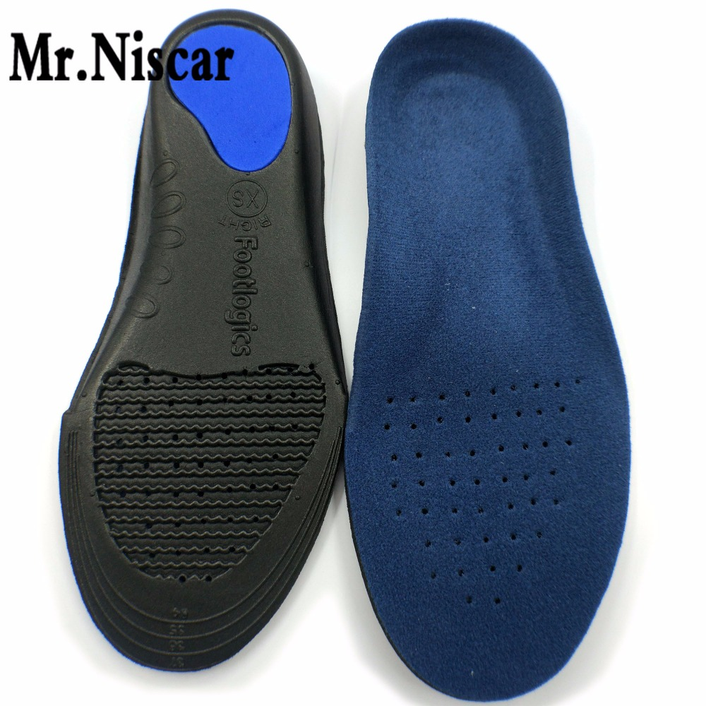 Mr.Niscar Unisex Orthotic Arch Support Shoe Pad Sport Running EVA Insoles Insert Cushion Non Slip Men Women Health Foot Care 2017 new 1pair s size unisex orthotic arch support sport shoe pad sport running gel insoles insert cushion for men women st1