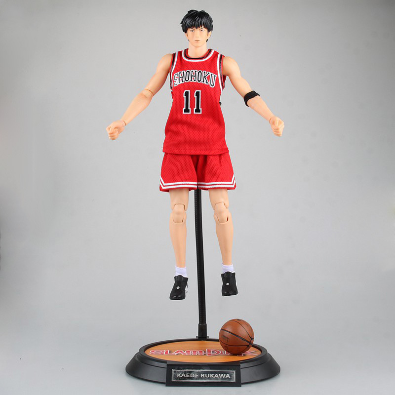 anime SLAM DUNK  Rukawa Kaede action figure red Number 11 ball suit figure model pvc classic collection toy doll Brinquedos 34cm anime one piece dracula mihawk model garage kit pvc action figure classic collection toy doll