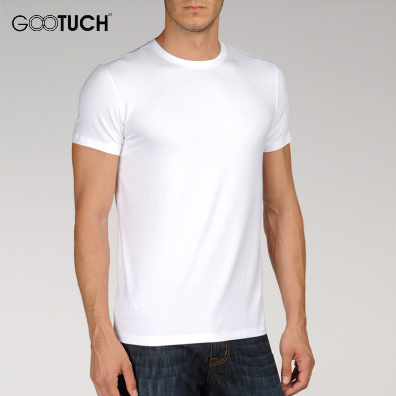Modal T Shirt Men 5XL Fit Tees Men Fanila Tight Undershirt Hombre Simple Top Tees 4XL 6XL Ondergoed G-3009