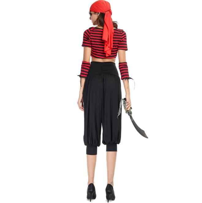 Пикантные Для женщин Хеллоуин костюм пирата Халат с капюшоном Леди Вышивка Вечерние хип-хоп Штаны плащ взрослых королева для ночного клуба A275