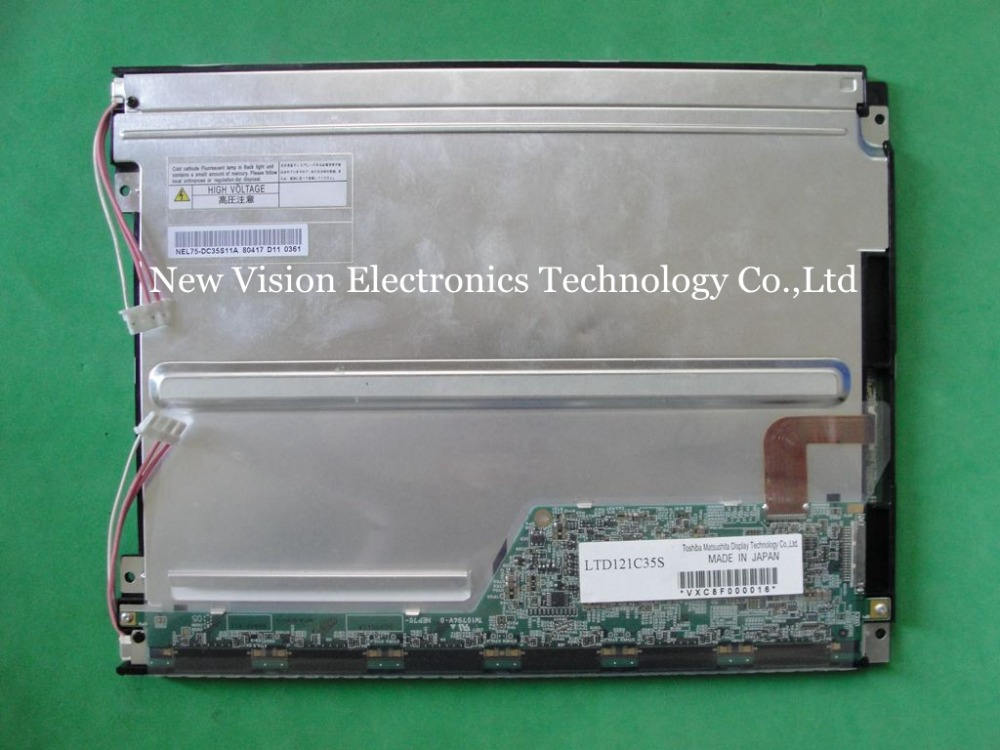 LTD121C35S Original 12 1 inch High Brightness HB TFT 800 600 LCD Panel Display Sunlight Readable