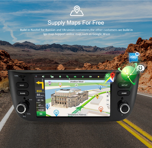 Image 4 - Radio Multimedia con GPS para coche, Radio con reproductor, Android 10,0, Octa Core, navegador, 4 GB de RAM