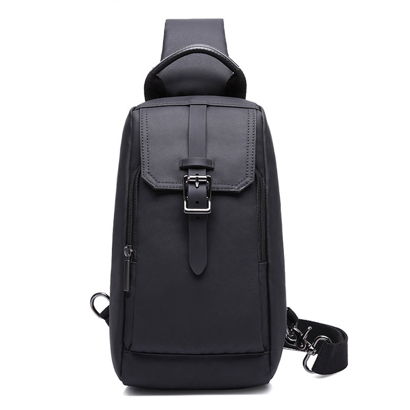 KAKA New Men's Waterproof Messenger Crossbody Bag High Capacity Sling Bag for Boys Casual Oxford Chest Pack for Men 2017 summer high capacity chest bag for men