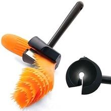 1 шт. морковь garnshes нержавеющая сталь огурец цветок бигуди украшения чайник длинной ручкой овощерезки слайсер