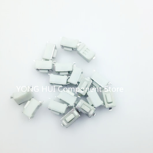 Lights & Lighting Lighting Accessories Orderly Free Shipping 100pcs 3*6*4.3 Mm White Patch Switch Smd Feet Touch Switch Button Switch Button Best Quality.