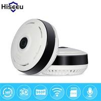 hiseeu 960P HD Fisheye IP Camera 360 degree Full View CCTV Camera Wireless Network Home Security WiFi VR Camera Night Vision