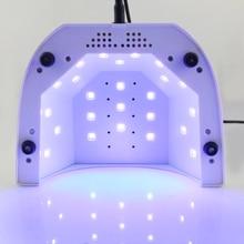 LKE Nail Dryer Machine 48W UV Lamp 10S 30S 60S Set 365+405nm LED White Light For Nail Polish Nail Gel Nail Art Tools