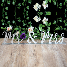 Mr & Mrs Wedding Sign, Sweet Heart Table Glitter and Home Decor, Wooden decoration Rustic Sign