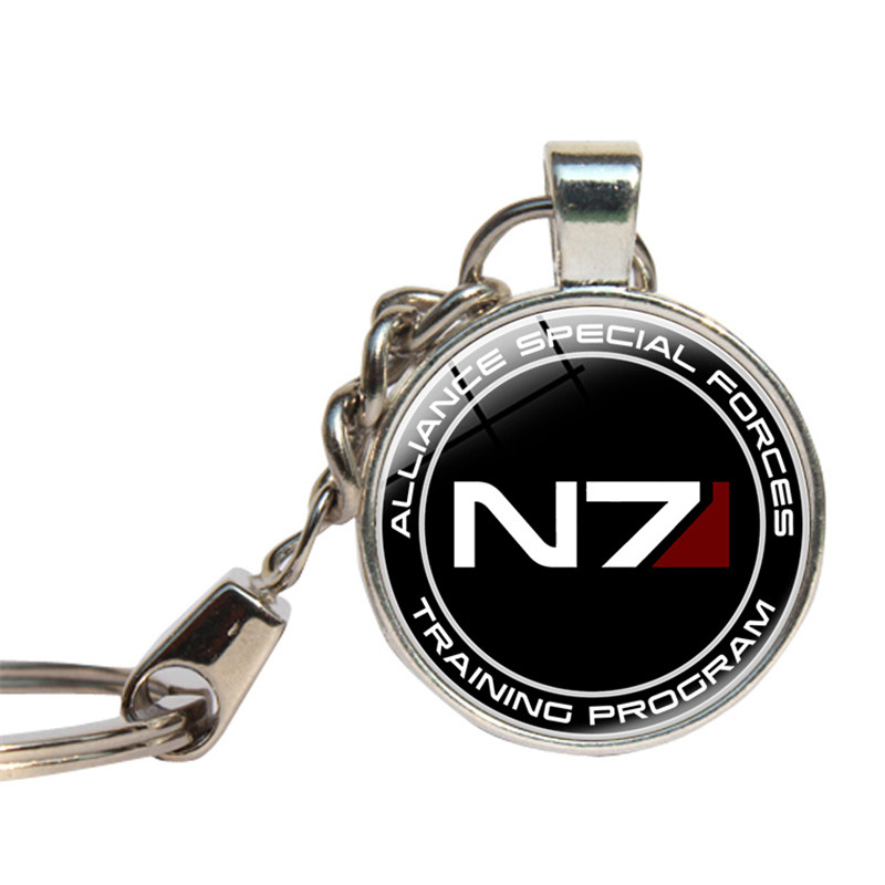 Mass Effect Inspired N7 Keychain Hot Game Gifts For