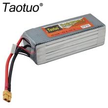 Taotuo Power Lipo Batterie 22,2 V 10000 mAh 6 S 30C XT60 Für RC Auto Flugzeug Hubschrauber Quadcopter Teile Drone lithium-Bateria