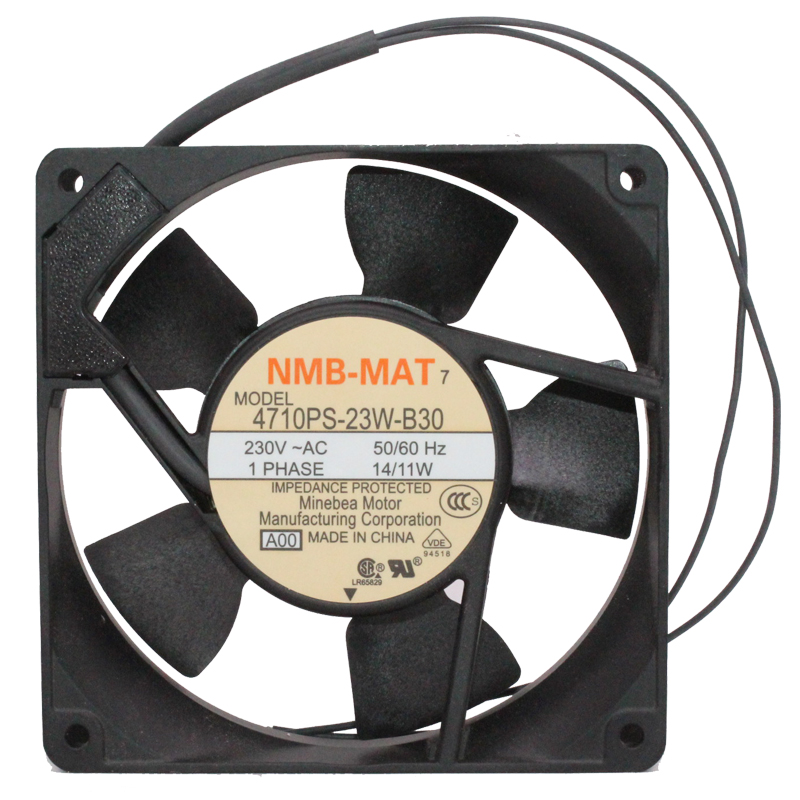 New and original 4710PS-23W-B30 12cm 12025 AC 220V 230V Inverter ion fan cooling fan встраиваемый счетчик моточасов orbis conta emp ob180800