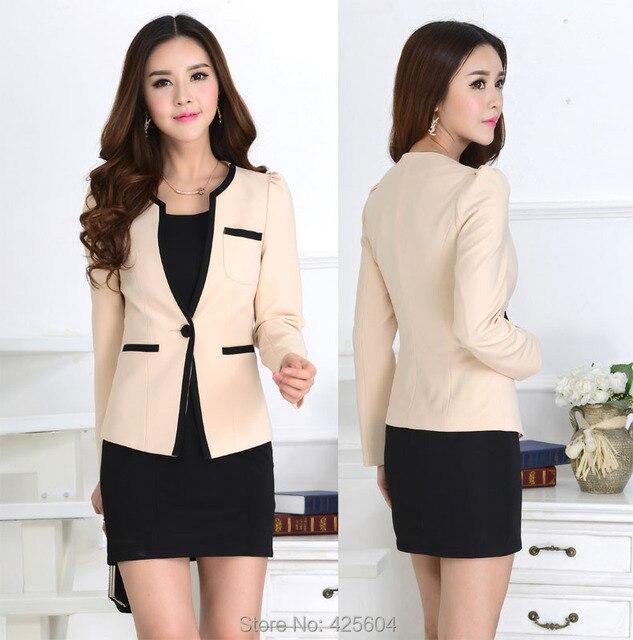 New Fashion Slim Autumn Winter Formal Uniform Style