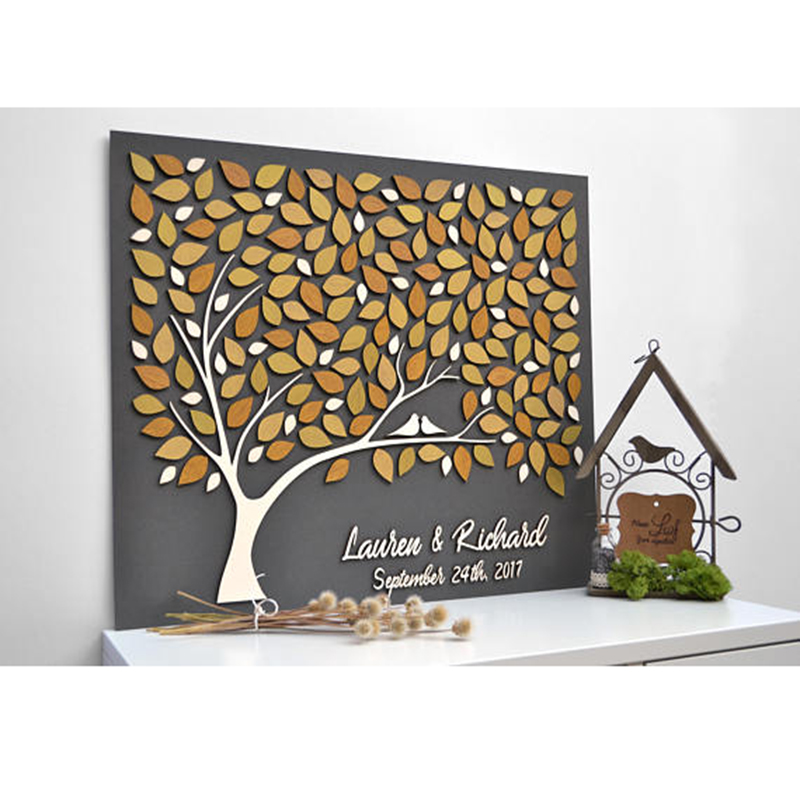 Rustic Wedding Guest Book Ideas,Tree Guestbooks Sign