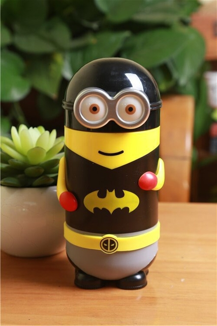 Batman Minion Water Bottle (Stainless Steel)