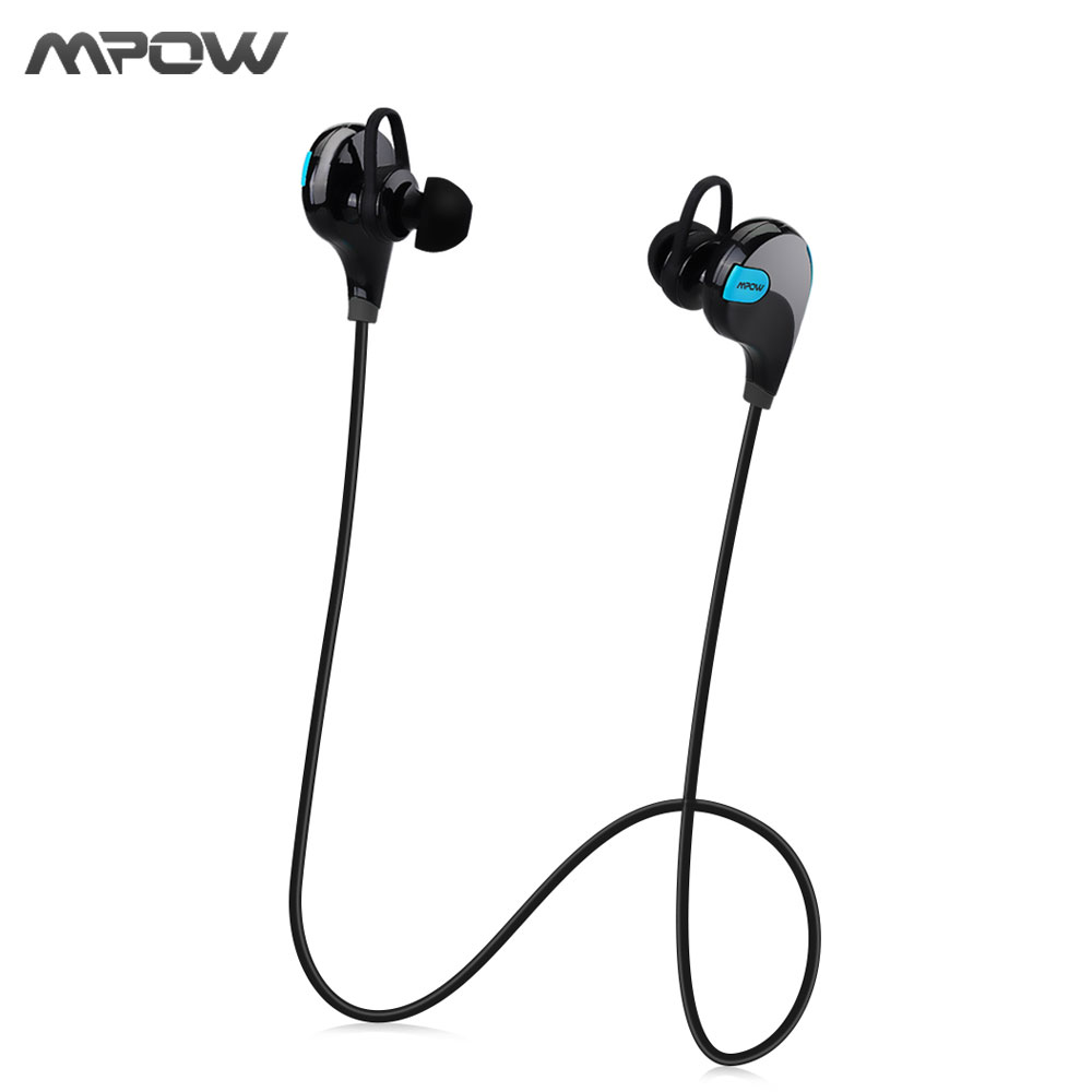 MPOW Aptx Stereo headset Swift IPX4 Sweatproof headphones bluetooth 4.0 wireless Earphones with MIC for Samsung xiaomi iphone letike bluetooth headphones wireless sports earphones sweatproof headset magnetic aptx hifi 3d stereo with mic for iphone xiaomi