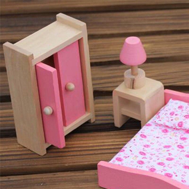 Fantástico Muebles De Juegos De Muñecas De Madera Modelo - Muebles ...