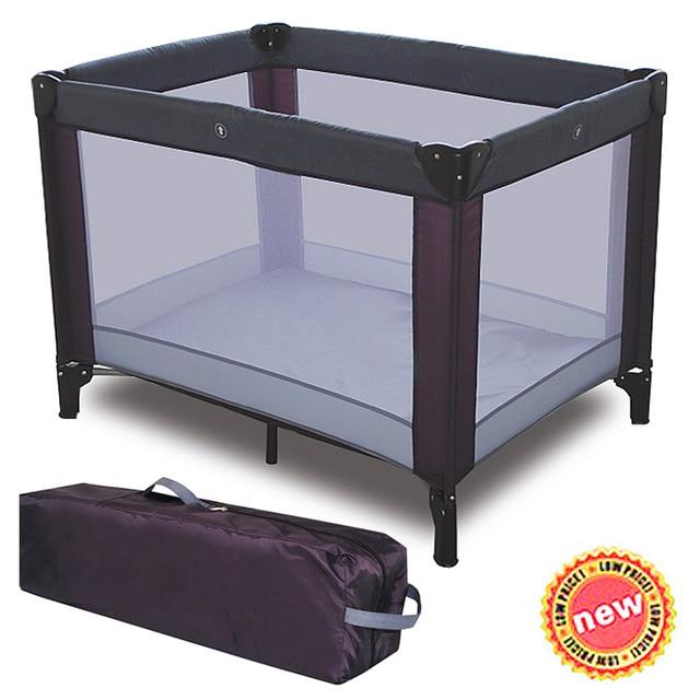 Playpen Playard Folding Baby Bed Kids Game Portable Toddler Travel Cribs Cot Newborn Cradle
