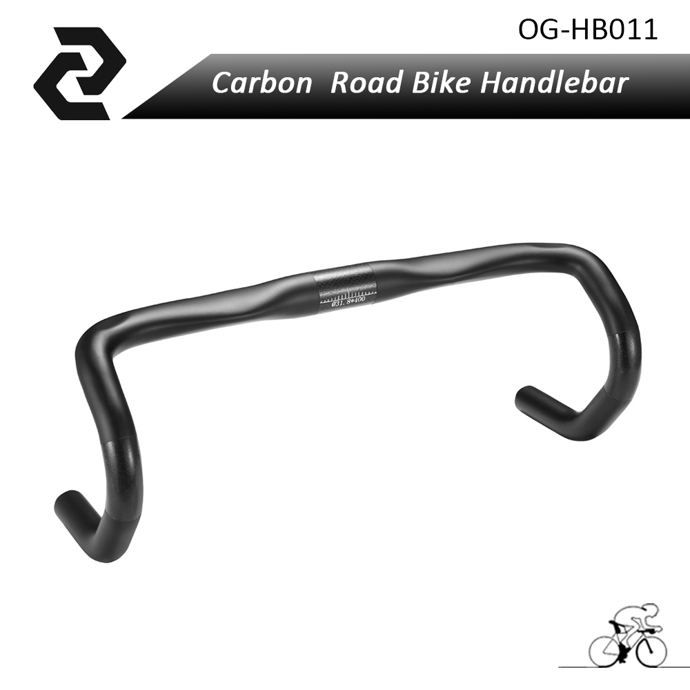 2018 Full carbon handle bar road bike UD Matt glossy Bicycle Handlebar UD 40 42 44cm bike Bend bar OG-EVKIN carbon drop handle bars road bike handlebar matt or gloss black 31 8 420mm
