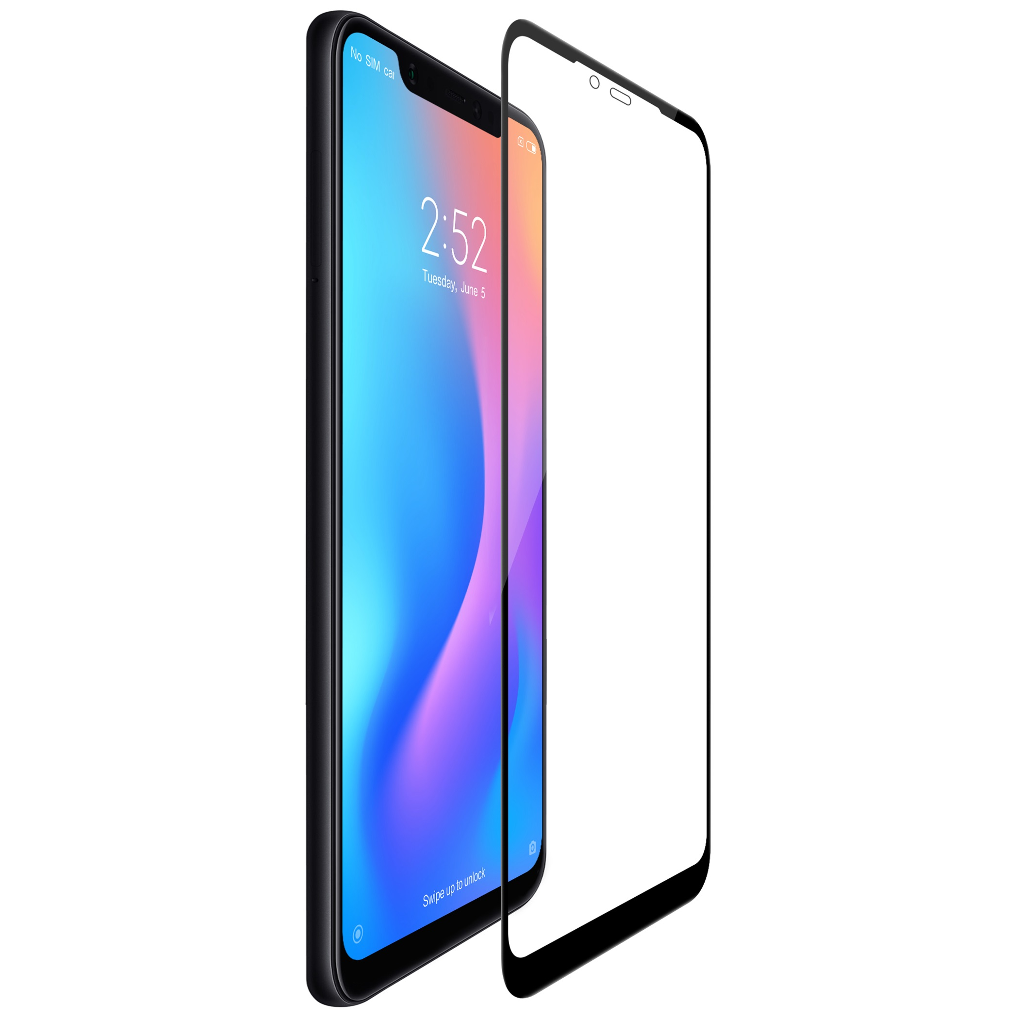Aliexpress Buy Xiaomi mi 8 glass screen protector Nillkin 3D CP Max Tempered Glass For Xiaomi Mi8 full covered Screen Protective film from Reliable