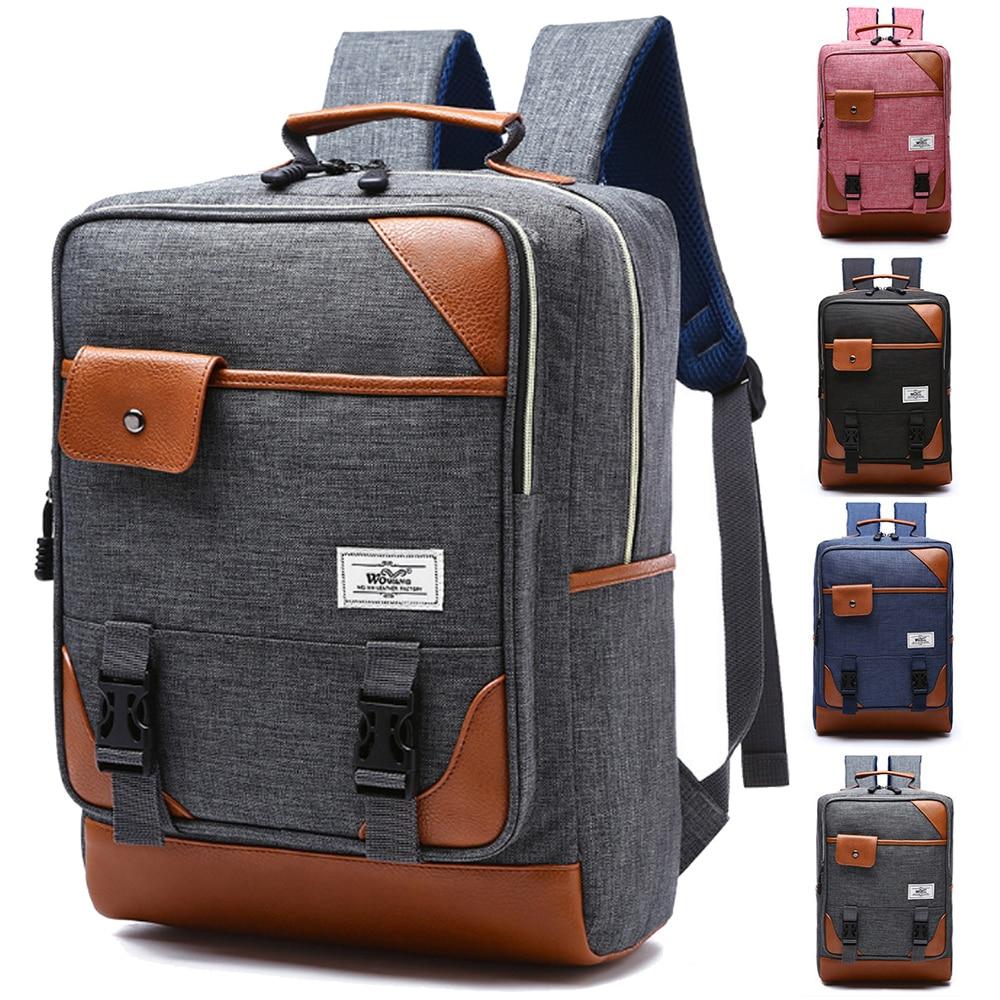 14 Inch Waterproof Nylon Computer Laptop Notebook Backpack Bags Case School Backpack for Macbook Pro 15 Men Women Student