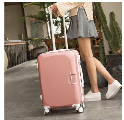 ABS+ PC Brand Women 202426 Inch Travel Luggage Trolley suitcase Boarding Case Rolling Case On Wheels Women Rolling Luggages