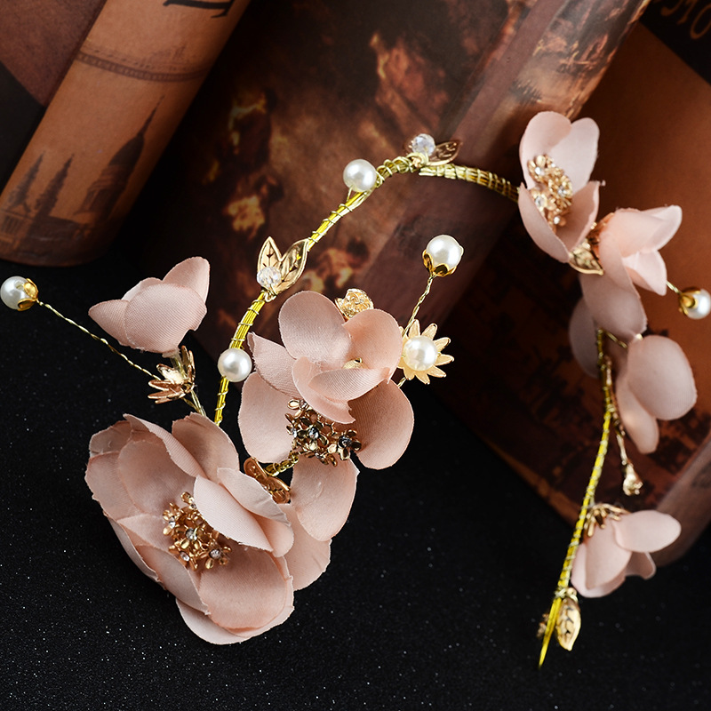 new fashion flowers hair jewelry accessories headdress hair band Wedding dresses