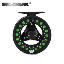 5/6  WT Fly Reel CNC  Aluminum Fly Fishing Fly Fishing Reel with Floating 5/6 Fly Line Backing Line Leader