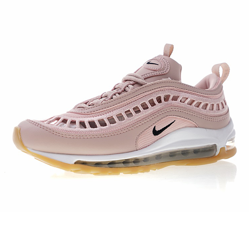 8efd4d2f46 Nike-Air-Max-97-Ultra-17-SI-Women-s-Running-Shoes -Pink-Wear-resistant-Breathable-Non.jpg