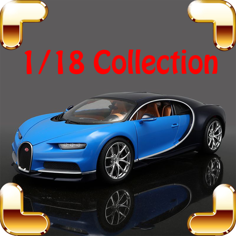 New Year Gift Chiron 1/18 Alloy Collection Vehicle Racer Sport Luxury Car Famous Style Man Office Decoration Die-cast Toy Scale new year gift jeep wrangler sahara 1 18 model metal jeep vehicle scale simulation toys alloy car collection large suv die cast