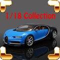 Regalo de Año nuevo Chiron 1/18 Racer Sport de Aleación de Vehículo de Recogida de Coches de Lujo Estilo Famoso Hombre de Oficina Decoración de fundición maquetas de juguete