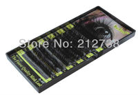 Free Shipping Wholesale 10 X D Curl 0 10 8mm 10mm 12mm 12 Strips False Eyelashes