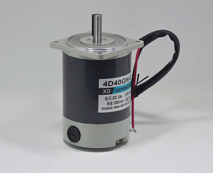 DC12V/24V 40w 1800RPM motor adjustable speed can be positive &negative mechanical equipment/electric tools/DIY motor accessories ac220v90w 0 500rpm 2m90gn c single phase speed decelerating gear motor suitable for mechanical equipment power tools diy etc