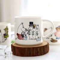 Kreative Cartoon Glas Glas Becher 450 ml Finnland Moomin Tal My Little mädchen Kaffee Milch Tee Becher Trinkbecher Geschenk Caneca Bier Copo