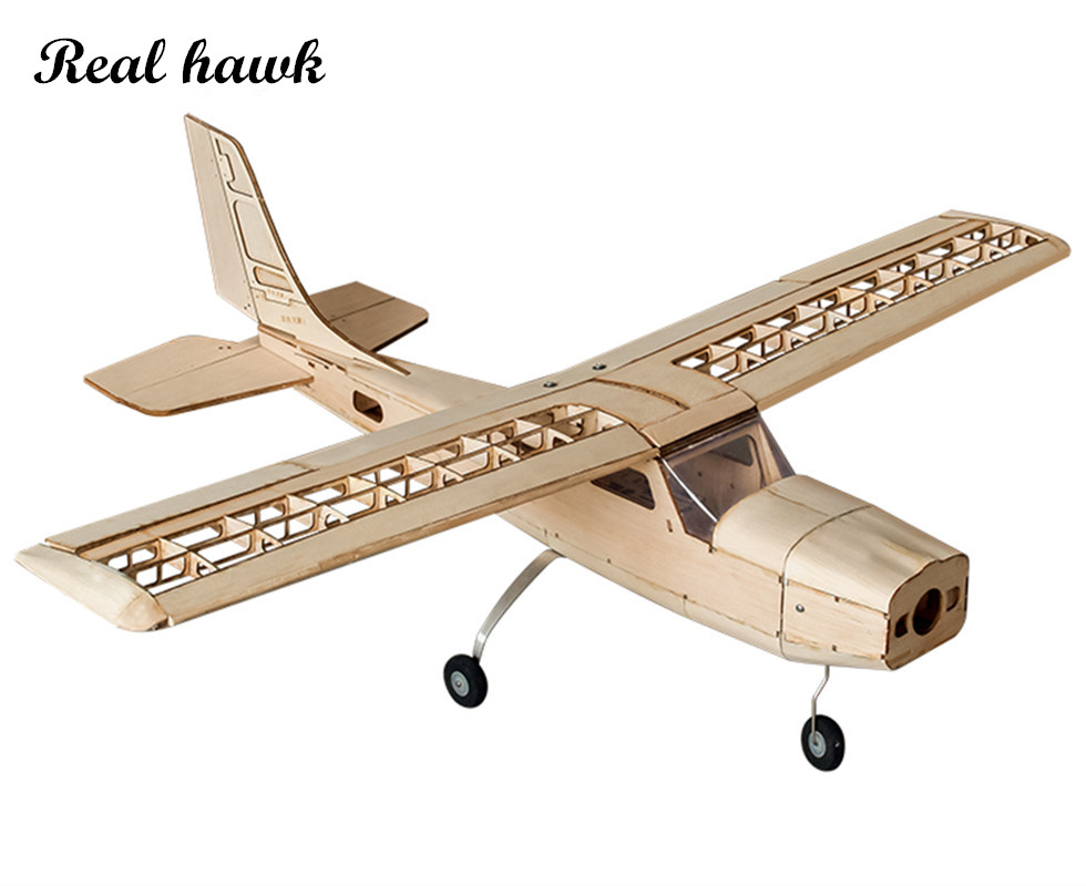 RC Plane Laser Cut Balsa Wood Airplane Kit New Cessna-150 Frame without Cover Wingspan 960mm Free Shipping Model Building Kit цена