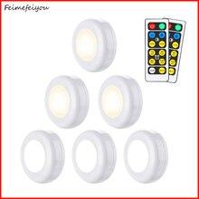 Dolgu ışık beyaz sıcak beyaz led lamba 2 renk gece lambası dolap dekoratif uzaktan kumanda ile vitrin için