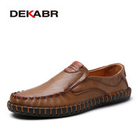 DEKABR Brand Fashion Summer Style Slip On Men Shoes High Quality Men Casual Shoes Comfortable Luxury