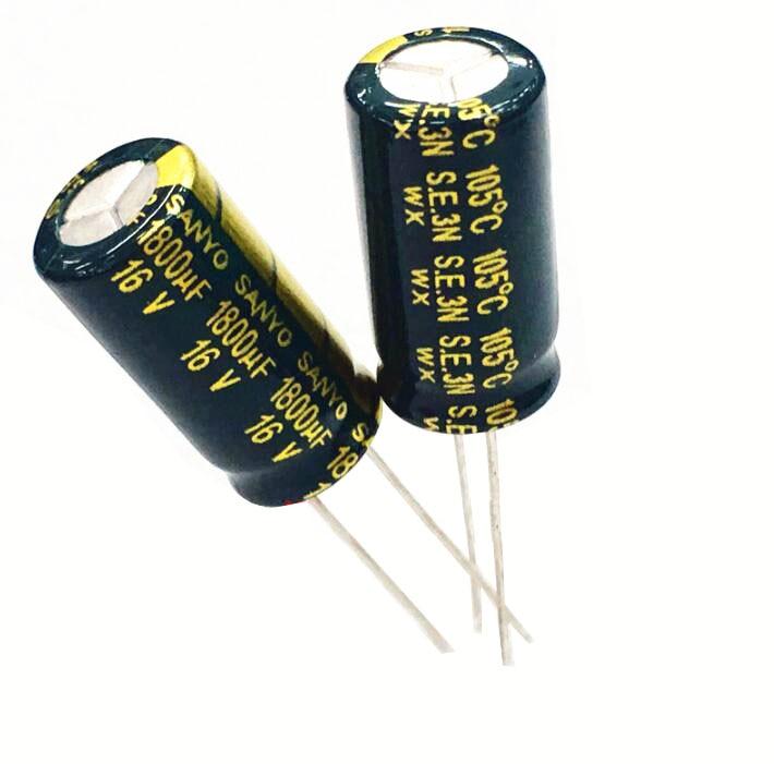 16V1800UF 10X20 Electrolytic Capacitor 100pcs