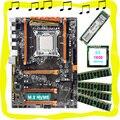 HUANAN ZHI X79 материнская плата с процессором Intel Xeon E5 1650 C2 3 2 GHz Материнская плата с M.2 128G NVME SSD RAM 4*16G DDR3 1600 REG ECC